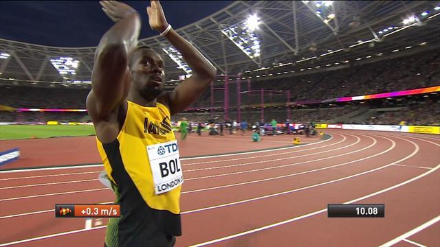 Dünya Atletizm Şampiyonası: Usain Bolt kötü çıkışa rağmen 100 metre yarı finalinde