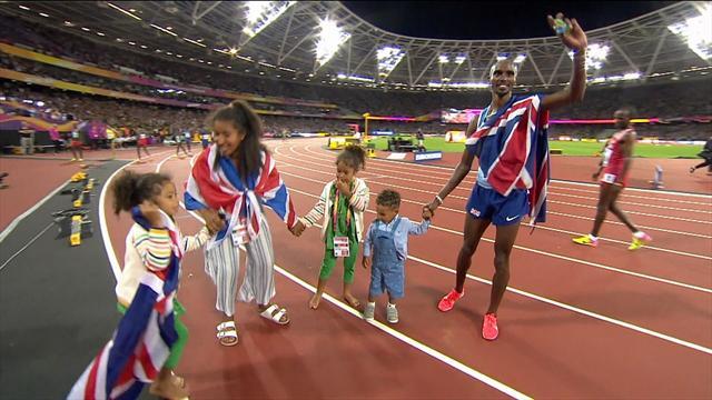 Dünya Atletizm Şampiyonası: Mo Farah üst üste üçüncü kez 10.000 metrede dünya şampiyonu
