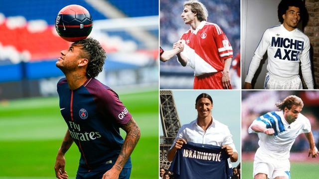 Neymar, Sneijder, Klinsmann, Ibrahimovic : jamais on n'aurait osé imaginer ces stars en L1