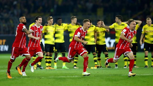 Supercopa alemana, Dortmund-Bayern Múnich: Ulreich decide el primer título (2-2, penaltis 4-5)