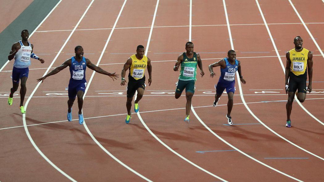 Leichtathletik Wm Justin Gatlin Entthront Usain Bolt über 100 Meter
