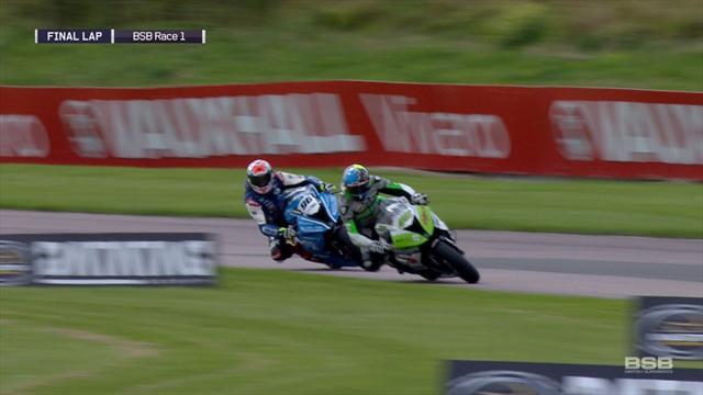 Josh Brookes takes Race 1 in Thruxton