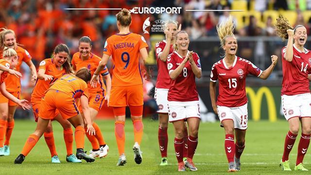 Sigue en directo la final de la Eurocopa Femenina entre Holanda y Dinamarca