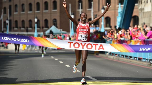 Rose Chelimo sacrée sur marathon