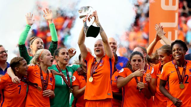 Netherlands claim first ever Euro crown in six-goal thriller against Denmark
