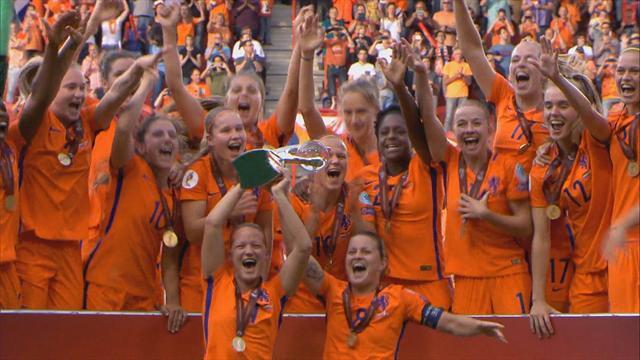 Голевая феерия, мяч в стиле Роббена и еще красота финала женского Евро