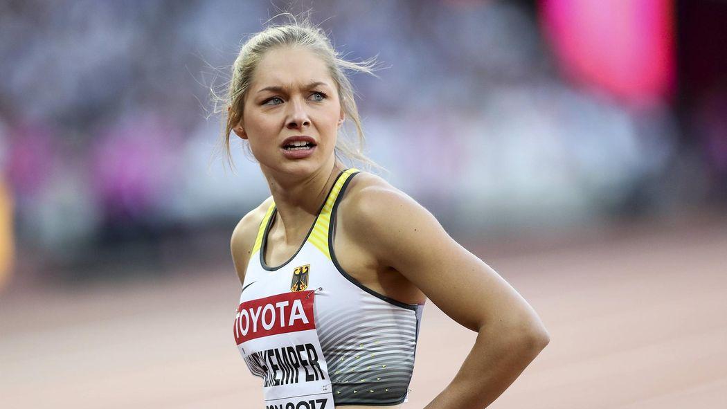 Sprint Hoffnung Gina Lückenkemper Verpasst Finale über 100m