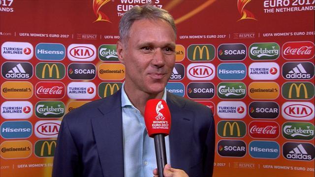 Van Basten speaks of pride of Netherlands team