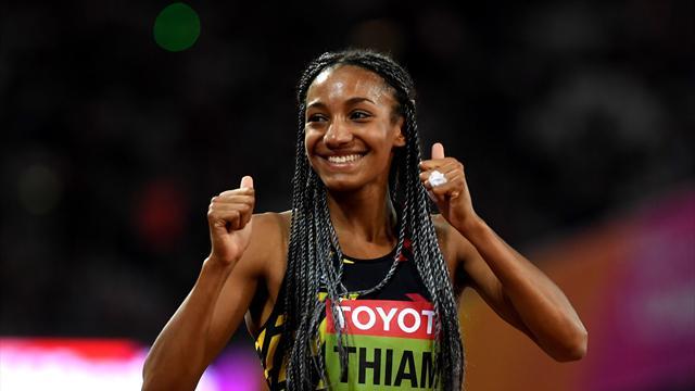 Sacrée à l'heptathlon, Nafissatou Thiam offre une première médaille d'or à la Belgique