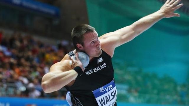 Walsh şampiyonluğa attı