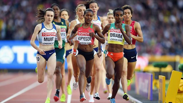Kipyegon favourite for 1,500m title