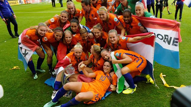The Warm-Up: Netherlands promise to 'party hard' after Euro win