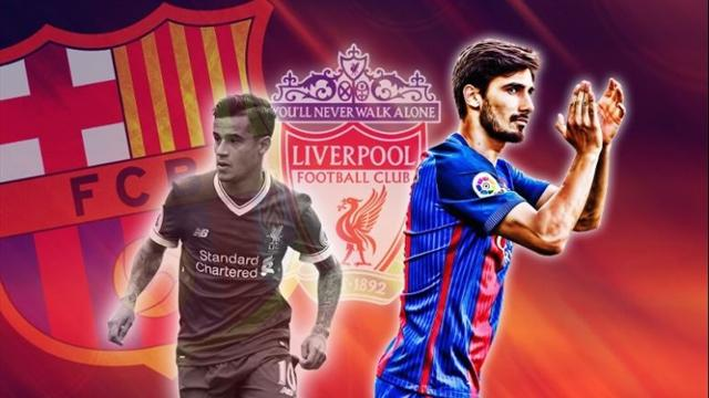 Euro Papers: Liverpool want Andre Gomes as part of Coutinho package