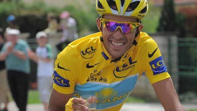 Contador en Eurosport: Alberto cuenta lo grande que es vestir el maillot amarillo