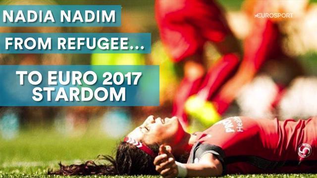 Nadia Nadim: From refugee to Euro 2017 stardom