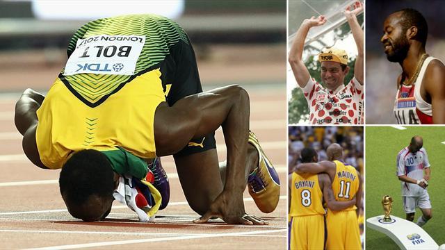 Da Bolt a Zidane: i grandi campioni che hanno fallito l'ultimo appuntamento