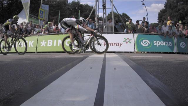 BinckBank Tour: Peter Sagan se lleva una ajustadísima primera etapa