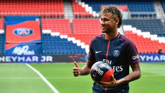 A peine arrivé au PSG, Neymar prend déjà du bon temps à Saint-Tropez