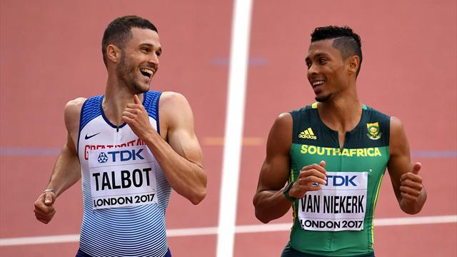 Christophe Lemaitre éliminé en demi-finale du 200 m — Mondiaux d'athlétisme