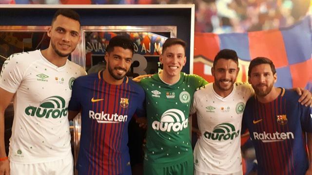 Chapecoense estrenará playera conmemorativa ante el Barcelona