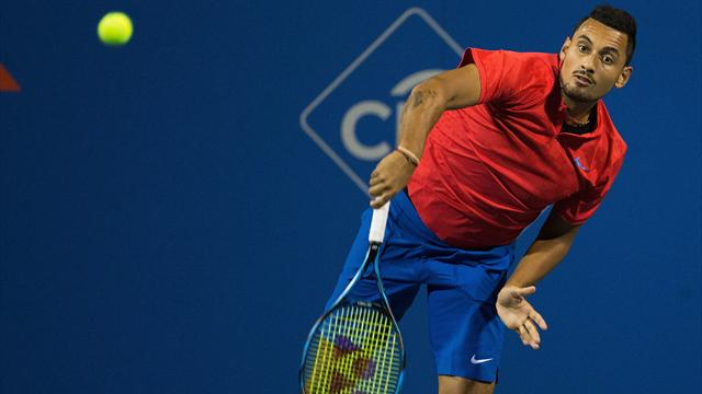 Kyrgios opens Rogers Cup campaign with victory
