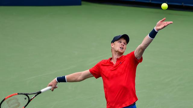 Kyle Edmund loses in three sets to David Ferrer in Montreal