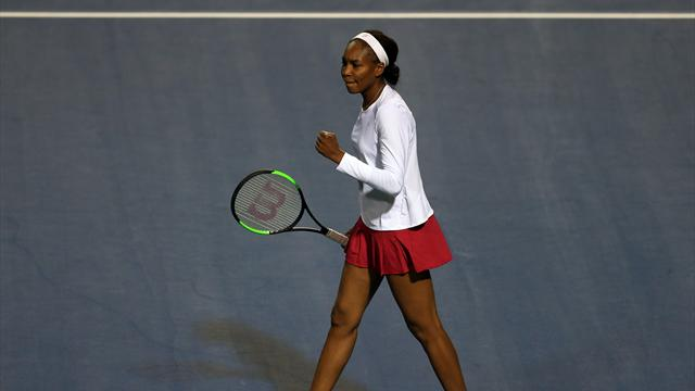 Williams overcomes rain delay to reach Rogers Cup second round
