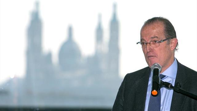 Santiago Deó, presidente de la RFEH, pitó tal día como hoy la final de Barcelona'92