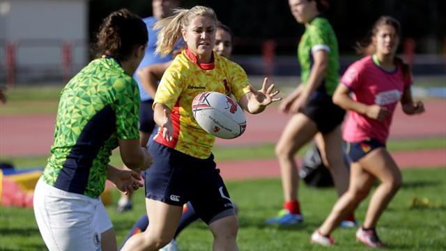 El rugby femenino español busca otra gesta