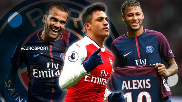 Euro Papers: Neymar calls Sanchez about €65m PSG move
