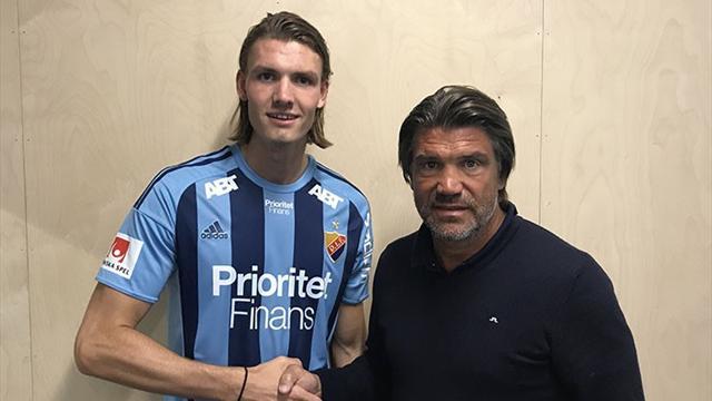 Nordmann klar for Allsvenskan: – En ung fotballspiller som er veldig stor og sterk
