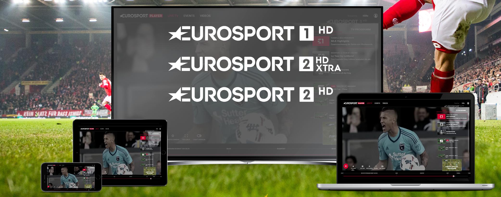 Die Kanäle bei Eurosport