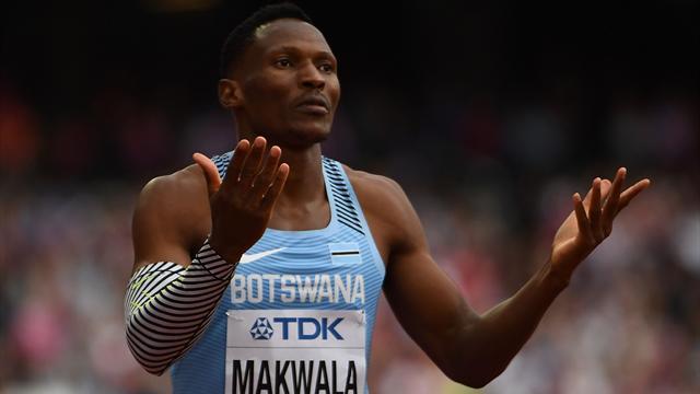 Malade, Makwala est forfait pour la finale du 400m