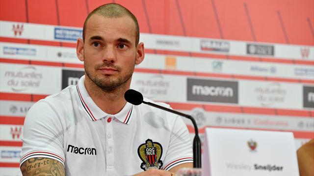 Sneijder : «Je suis à Nice pour le projet sportif»