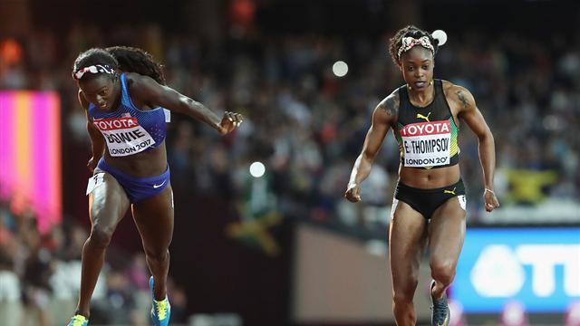 Американки выиграли эстафету 4 х 100 метров