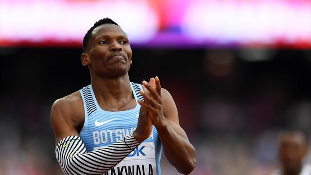 Apte à participer à la finale du 400m, Makwala a été refoulé à l'entrée du stade