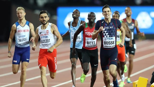 Pierre-Ambroise Bosse champion du monde du 800 mètres