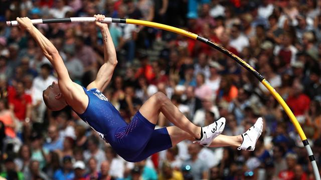 Avec un saut à 5,86m, Kendricks établit la MPM de l'année à Berlin