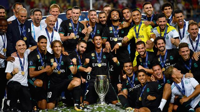 Real Madrid outclass Manchester United to claim European Super Cup