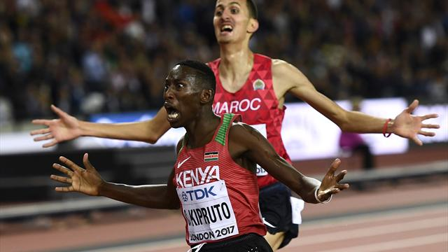 Beaten champion Kemboi quits after Kipruto claims steeplechase gold