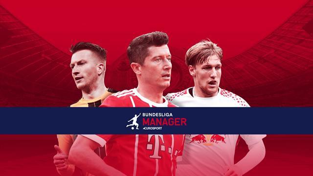 Eurosport Bundesliga Manager: Team aufstellen, mitspielen, gewinnen!
