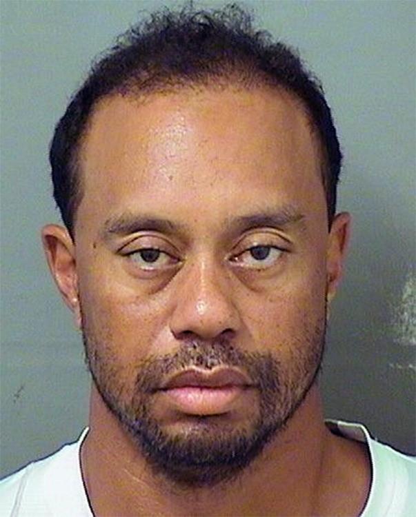 Tiger Woods en 2017 après son interpellation