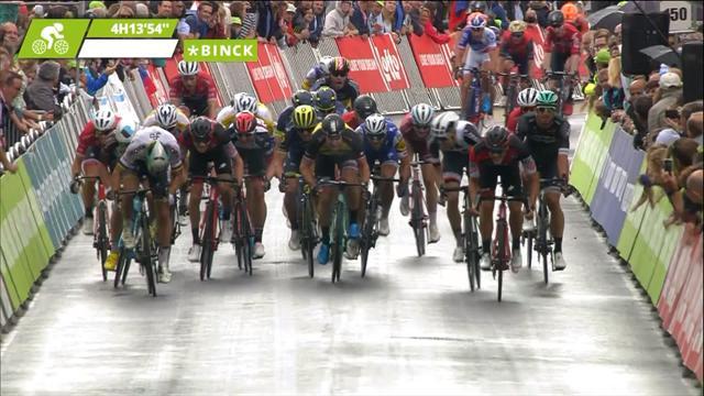 Sagan fa bis al BinckBank Tour: battuti allo sprint Theuns e Barbier, niente volata per Kittel