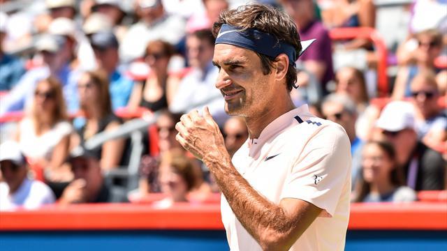 53 minutes et trois jeux perdus : Federer a fait vite et bien pour sa rentrée