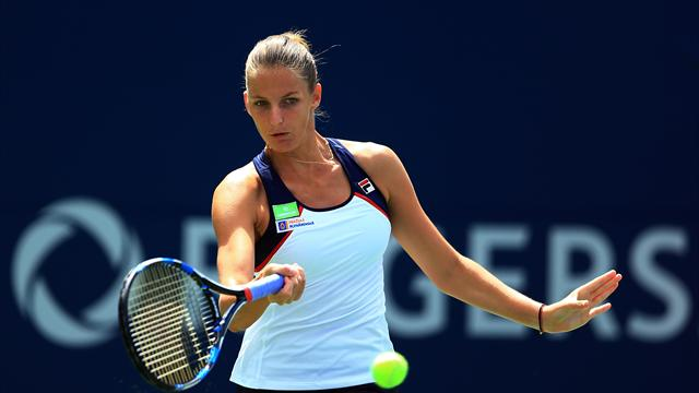 Pliskova begins number one reign with ragged win
