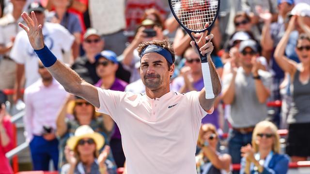 Masters 1.000 Montreal 2017, Haase-Federer: Otro día en la oficina y a la final 3-6 y 6-7 (7)