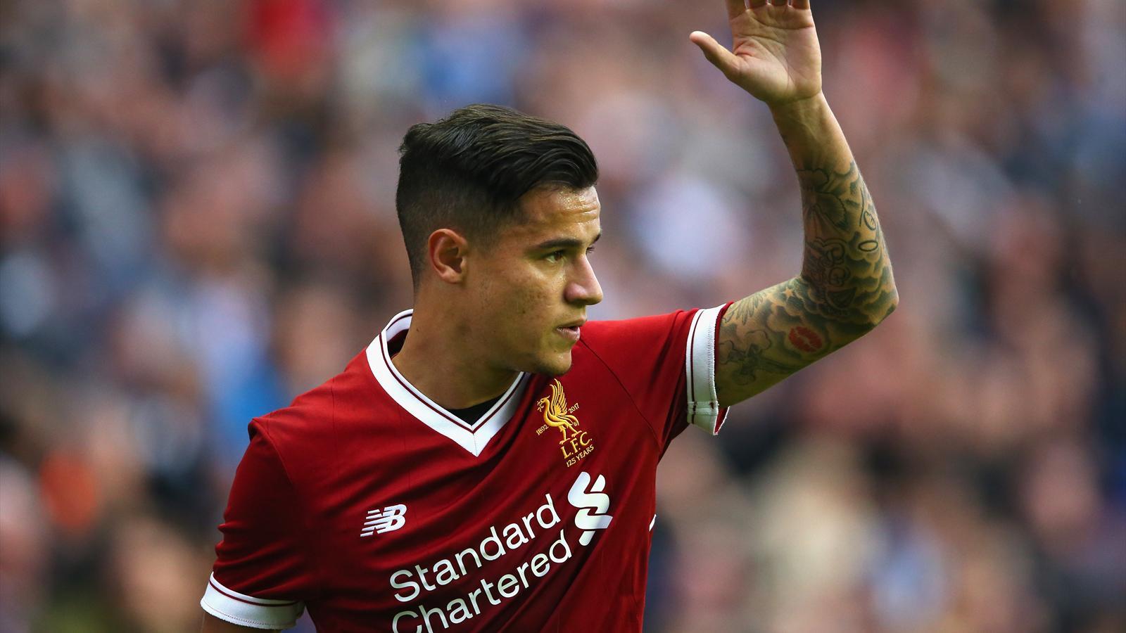 Liverpool 'reject €100m Barcelona bid for Philippe Coutinho' - Premier League 2017-2018 ...