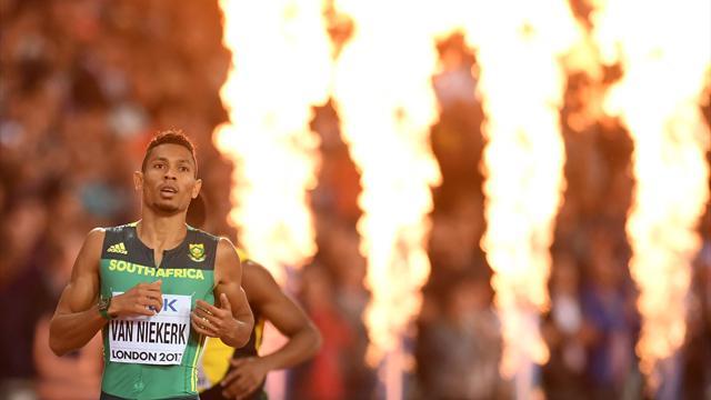 Van Niekerk to miss Commonwealth Games after suffering knee injury