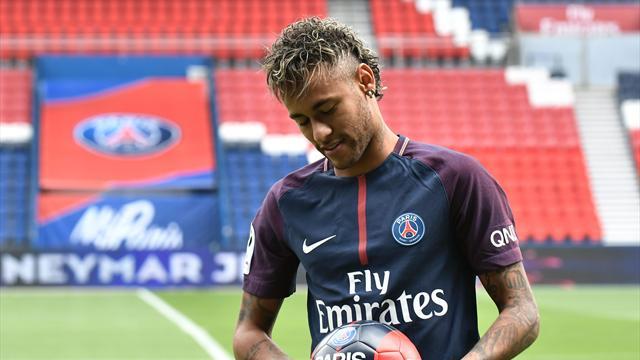 Neymar free to make PSG debut as Barca receive transfer fee