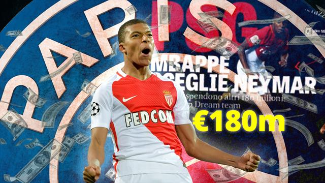 Euro Papers: Mbappe chooses PSG in astonishing €180m deal